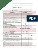 CORRECCION LISTAS DE VERIFICACIÓN ISO F 14001-9001 (1)