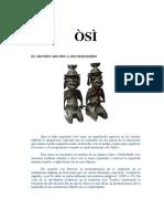 ÒSÌ el lado izquierdo - Complemento Ògbóni