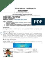 4.Matematicas- Santiago Sanchez