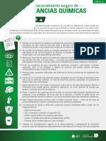 Anexo 10. Almacenamiento sustancias químicas