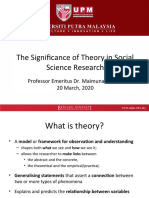 MI.Significance of Theory in Research.20.02.20