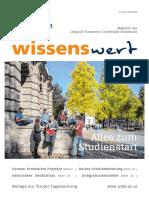 Wissenswert Juni 2020 - Magazin der Leopold-Franzens-Universität Innsbruck