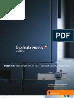 Bizhub Press c7000 Series Brochure