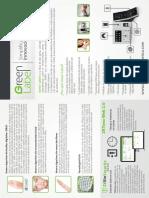 Green Label Flyer