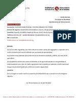 Balizas Calles Argentina San Viator (04/2020)