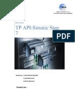 API Rapport TP