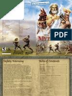 Age of Mythology - Manual - PC