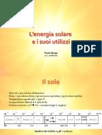 Lezione solare fotovoltaico