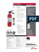 466227 FX Pro 2.5 Multipurpose Fire Extinguisher