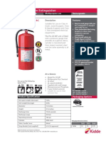 466206 Pro 20 Multipurpose Fire Extinguisher