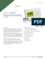 85006-0064 -- Life Safety Keypad Display