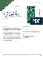 85010-0133 -- EST3 Central Processor Unit