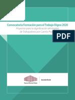 Convocatoria NMP TpCP 2020