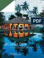 Sri Lanka Style - Tropical Design and Architecture.epub
