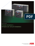 Power breakers - Emax2 air circuit breakers