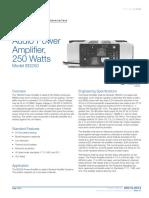 85010-0013 -- 250 Watt Audio Power Amplifier