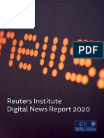 Reuters Institute Digital News Report 2020