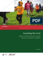 Van Der Berg & Spaull 2020 Counting the Cost - COVID-19, Children and Schooling (15 June 2020)