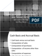 Cash, Accrual, And Single