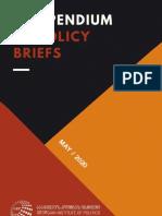 Compendium of Policy Briefs 2020
