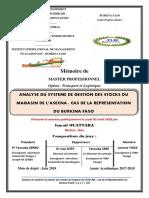 Mémoire  ISMAIL OUATTARA.2