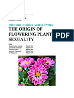 THE ORIGIN OF FLOWERING PLANTS SEXUALITY