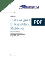 Piata asigurarilor in Republica Moldova