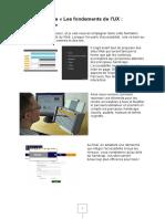 Les fondements de l'UX - L'accessibilité