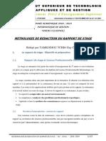 methodologie de redaction rapport de stage _2
