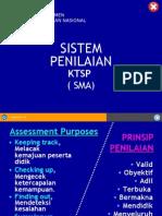 16 Sistem Penilaian-ktsp SMA