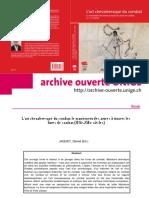 JAQUET, Daniel (2013) L'art chevaleresque du combat (maniement d'armes -- les livres de combat (s. XIVe-XVIe) (Alphil-PUS).pdf