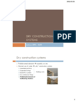 Dry construction systems