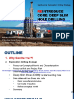 Exploration Strategy using Deep Slimhole Drilling