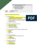 PARCIAL I NEUROPSICOLOGÍA - PREGUNTAS