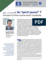 """Le retour du """"péril jaune"""" ? Pourquoi la Chine suscite aussi l'inquiétude - Note d'analyse géopolitique n°10 décembre 2010"""