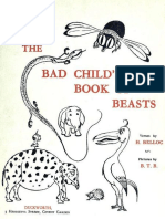 [EN] Belloc, Hilaire - The Bad Childs Book of Beasts