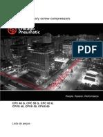 Lista de Pecas CPC-CPVS 40-60