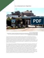 Fuga de capitales y empresarios en  Argentina