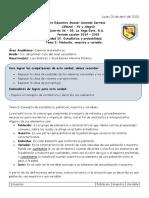 Estadística y probabilidad_Población, muestras y variables.