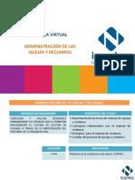 ADMINISTRACIÓN DE LAS QUEJAS Y RECLAMOS Memorias-Charla-Virtual-25-Febrero-2016.pdf