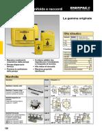 Hydraulic Oil, Manifolds and Fittings Italian E328e