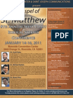 West Coast Biblical Conference 2011