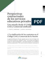 contratos educativos