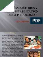 Teorias Metodos y Areas de Aplicacion de la Psicologia
