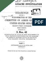 Malmedy Hearings US Senate - Volume II 1949