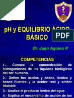 2pH Y EQUILIBRIO ACIDO BASICO