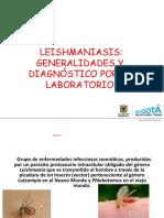 2016 LEISHMANIASIS LABORATORIO CLÍNICO