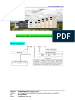Datasheet-PHAETON PH380 Solar Pump Inverter