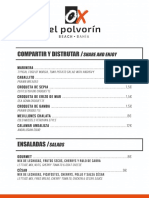 Carta El Polvorin Bahia 2020