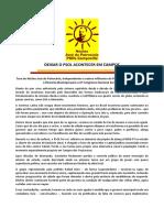 DEIXAR O PSOL ACONTECER EM CAMPOS